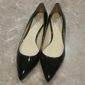 Cole Haan Patent Black Low Wedge Heels